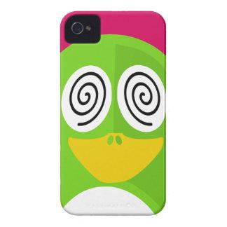 Hypnotized Penguin iPhone 4 Case-Mate Cases
