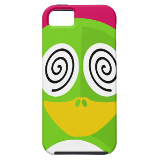 Hypnotized Penguin iPhone 5 Cases