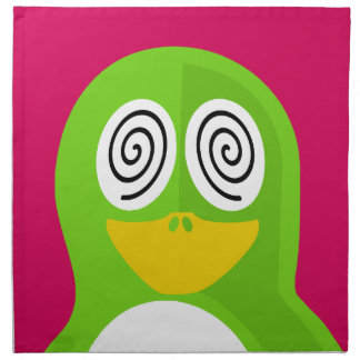 Hypnotized Penguin Napkin