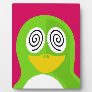Hypnotized Penguin Plaque