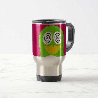 Hypnotized Penguin Travel Mug