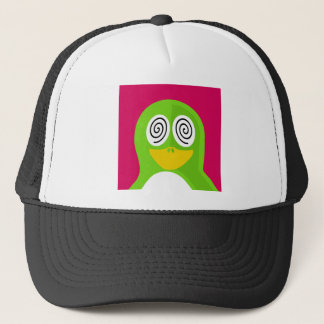 Hypnotized Penguin Trucker Hat