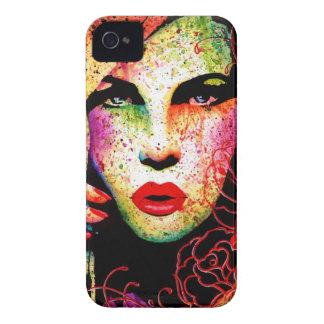 Hypnotized - Pop Art Portrait iPhone 4 Case-Mate Cases