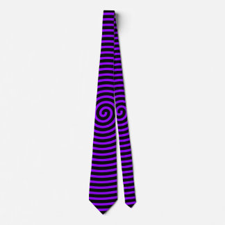 Hypnotized Purple Tie