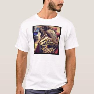 Hypo baby burmese python photo design. T-Shirt