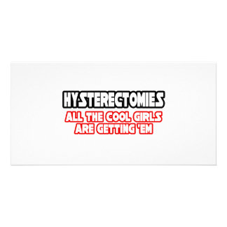 Hysterectomies...Cool Girls Personalized Photo Card