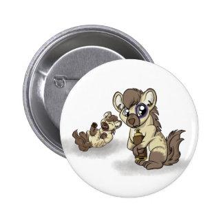 Hysterical Hyena! 2 Inch Round Button