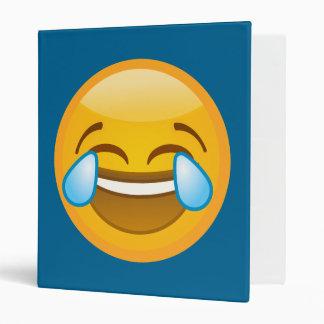 Hysterically Laughing Emoj Binders