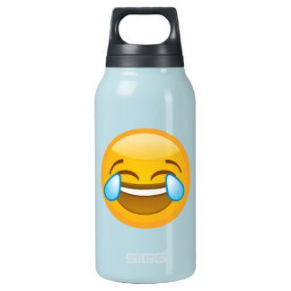 Hysterically Laughing Emoj Insulated Water Bottle