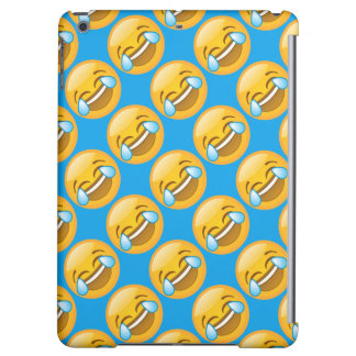 Hysterically Laughing Emoj iPad Air Cover