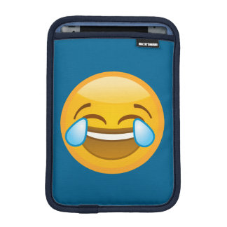 Hysterically Laughing Emoj iPad Mini Sleeve