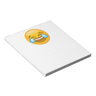 Hysterically Laughing Emoj Notepad