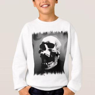 Hysteriskull Laughing Human Skull Sweatshirt