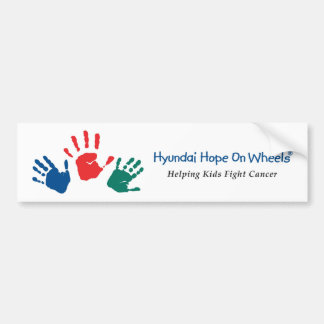 Hyundai Hope On Wheels Bumper Sticker