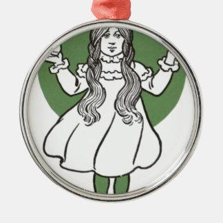 i027_wizard metal ornament