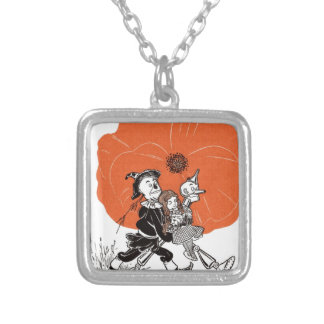 i111_wizard silver plated necklace