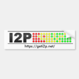 I2P Bumper Sticker