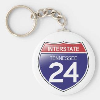 I-25 Tennessee Keychain