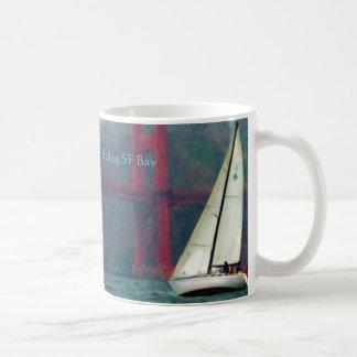 I 36 mug, Sailing SF Bay, Sailing SF Bay Basic White Mug