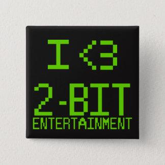 I <3 2-Bit Entertainment Pin