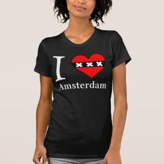 I <3 Amsterdam Female Black T-Shirt