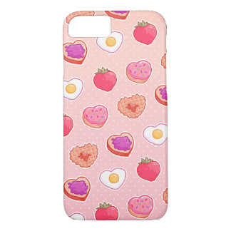 I <3 Breakfast iPhone 7 Case