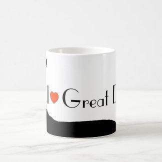 I <3 Great Danes Coffee Mug