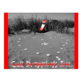 i <3 Gull Droppings Inc Postcard