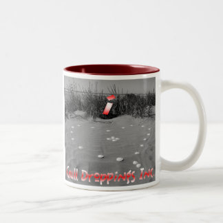 i <3 Gull Droppings Inc Two-Tone Coffee Mug