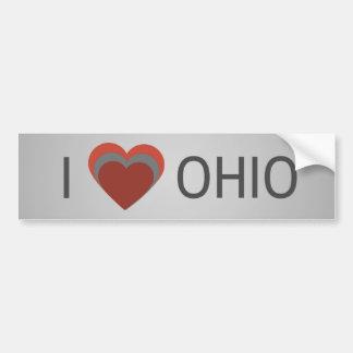 I <3 (heart) Ohio Bumper Sticker