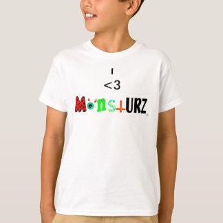 I <3 monstURZ T-Shirt