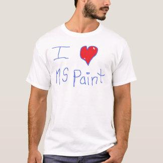 i <3 MSpaint T-Shirt