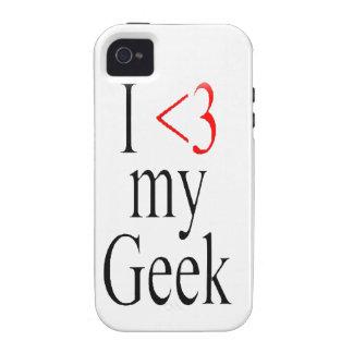 I <3 my geek iphone case Case-Mate iPhone 4 cases
