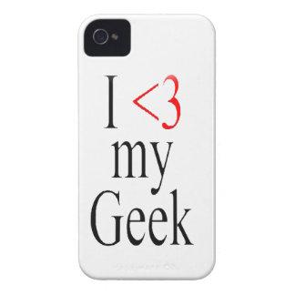 I <3 my geek iphone case iPhone 4 case