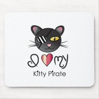 I <3 My KittyPIRATE Mouse Pad