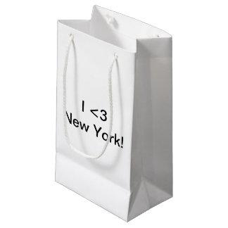 I <3 New York Gift Small Gift Bag