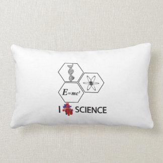 i <3 Science Lumbar Pillow
