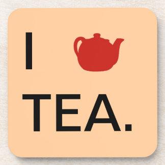 I <3 Tea - Coasters