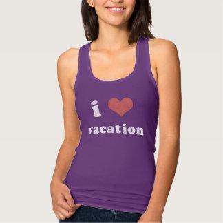 I <3 Vacation Tank Top