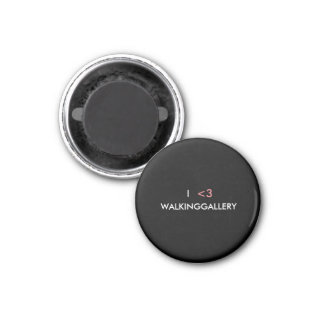 I <3 WALKINGGALLERY magnet