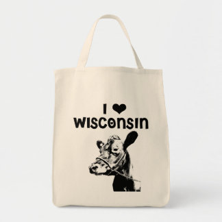 I <3 Wisconsin Tote Bag