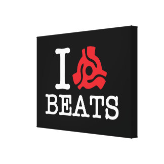 I 45 Adapter Beats Stretched Canvas Print