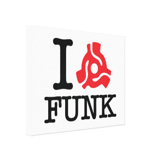 I 45 Adapter Funk Gallery Wrap Canvas