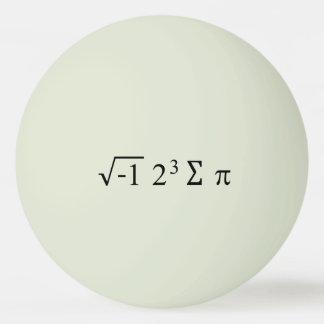 i 8 sum pi Funny Math Equation Pi Day Ping Pong Ball