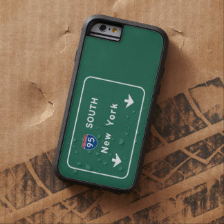 I-95 Interstate New York Empire State NY Highway Tough Xtreme iPhone 6 Case