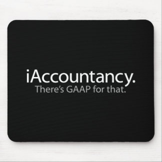 i Accountancy - There's GAAP For That Mouse Pad