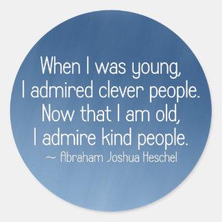 I admire kind people (2) sticker