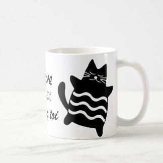 I adore being a cat coffee mug