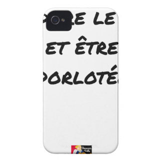 I ADORE the TEA AND BEING PAMPERED - Word games iPhone 4 Case-Mate Case
