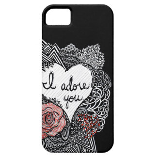 I Adore You iPhone 5 Cases